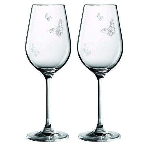 Royal Albert MIRANDA KERR WINE 11.8 OZ SET/2