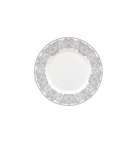 Waterford LISMORE LACE PLATINUM SALAD, 8""