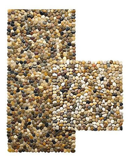 Design Ideas BeachStone Placemat, Riverbed Brown