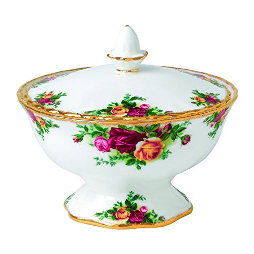 Royal Albert OLD COUNTRY ROSES LIDDED BOX 4.7""