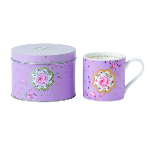 Royal Albert MARVELOUS MUGS ROSE CONFETTI 10.2 OZ
