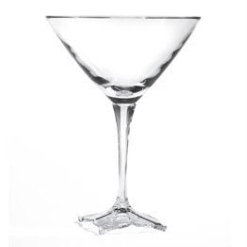 Mikasa Florale Martini Glasses Set of 4