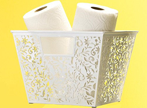 Design Ideas Vinea Storage Nest, White, Large