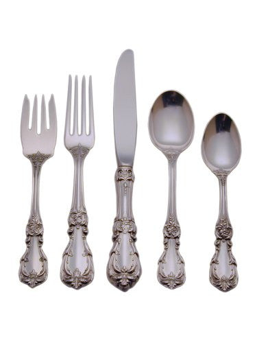 Reed & Barton Burgundy Sterling Silver 5-Piece Place Setting, Service for 1