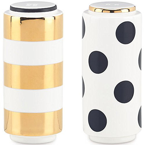kate spade new york Fairmount Park Dot Stripe Salt & Pepper Shaker Set