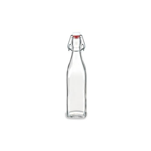 Bormioli Rocco Swing Bottle, 17-Ounce (Set of 4)