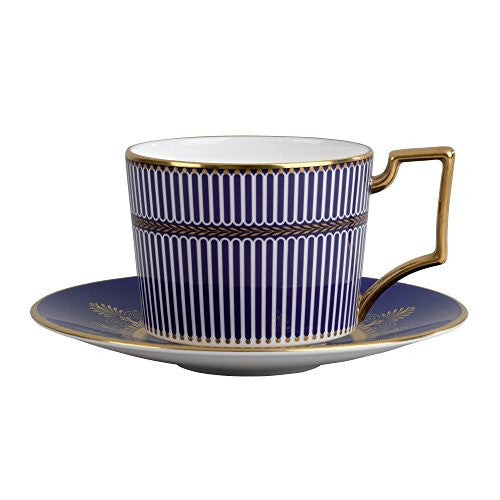 Wedgwood ANTHEMION BLUE TEACUP