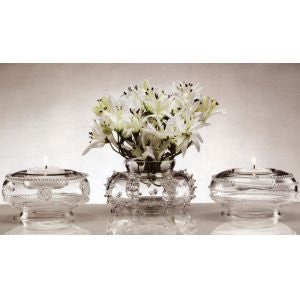 Juliska Glassware Tea Lights C. Tea Light-Vase - Isabella 3.5 InchW x 2 InchH ,