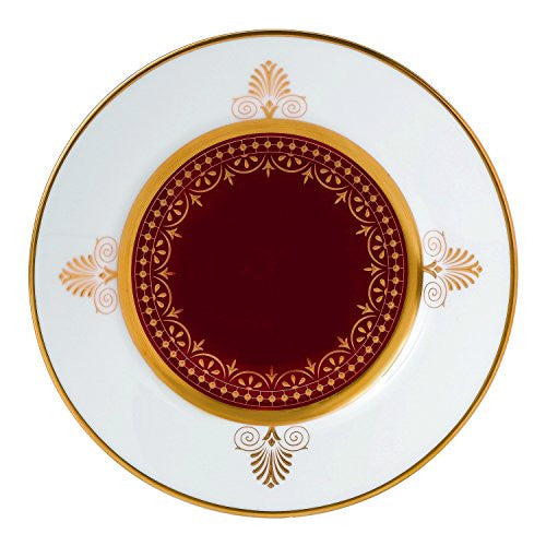Wedgwood ANTHEMION RED BREAD & BUTTER PLATE 6""