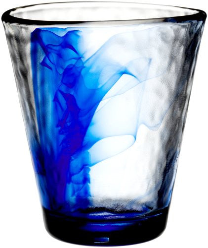Bormioli Rocco Murano 14-7/8-Ounce Cobalt Blue Beverage Glass, Set of 4