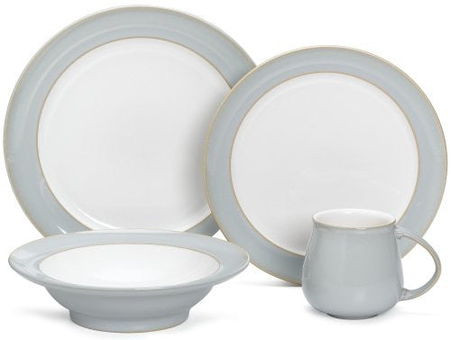 Denby Mist 4-Piece Place Setting, Service for 1