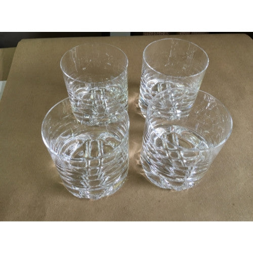 Orrefors Erik Collection Old Fashioned set of  4