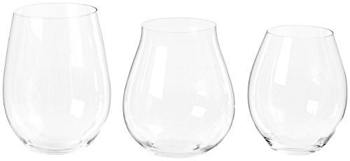 "Riedel 5414/74 Crystal Big ""O"" Wine Tumbler Red Wine, Set of 3"