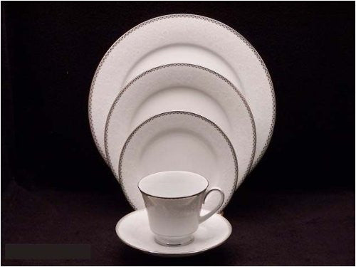 NORITAKE ABBEYVILLE 4352 TWELVE 5 PC PLACE SETTINGS