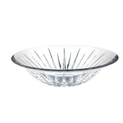 Reed & Barton Soho Full Lead Crystal Centerpiece Bowl with 13-Inch Diameter