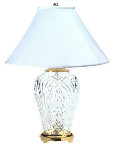 "Waterford KILKENNY TABLE LAMP 29"" - POLISHED BRASS"