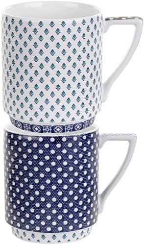 Ted Baker Ted Baker Casual Collection Stacking Mugs - Balfour VII & VIII - 2 ct