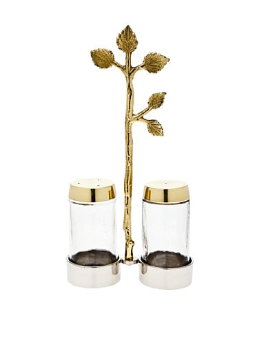 Godinger 94681 Leaf Salt and Pepper,