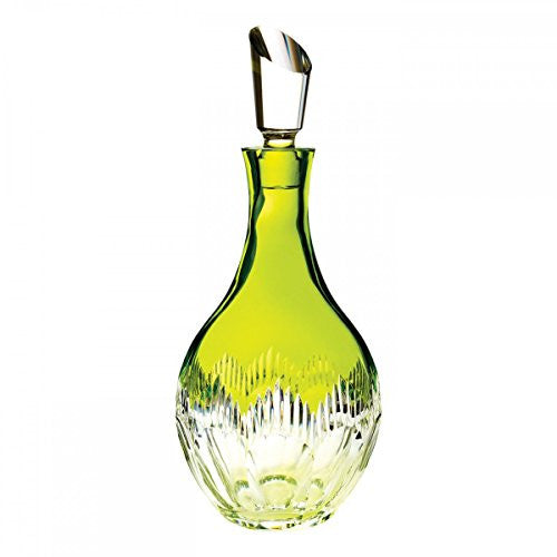 Waterford NEON LIME GREEN DECANTER