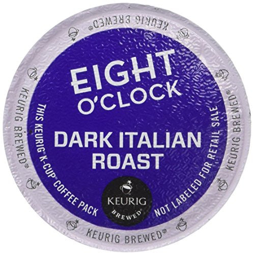 Eight O'Clock Coffee Dark Italian Roast Coffee - 18 ct