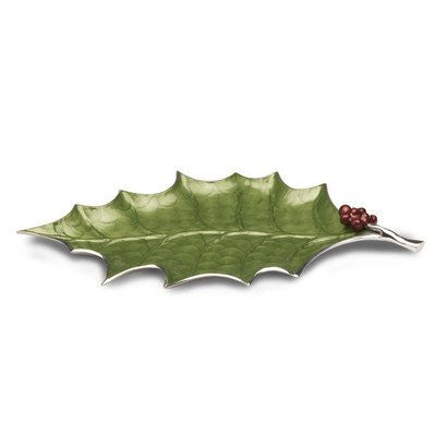 Holly Sprig Platter
