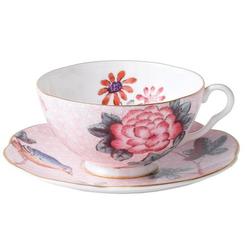 Wedgwood CUCKOO TEACUP & SAUCER SET PINK