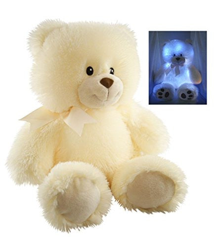 Cuddle Barn New Nite Brite Pals Stuffed Toy Teddy Bear - Cuddles the Cub