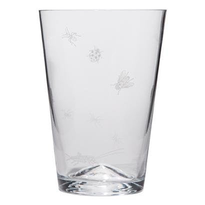 Picnic Glassware Medium Tumbler Clear, Set of 4