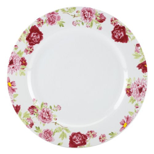 Gorham Kathy Ireland Home Blossoming Rose Dinner Plate