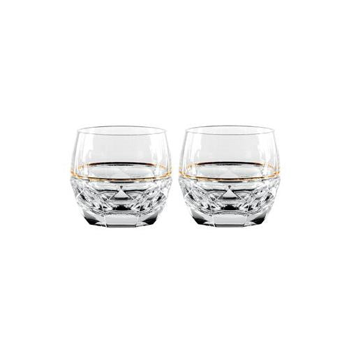 Waterford ELYSIAN ROCKS GLASSES (CLEAR), PAIR