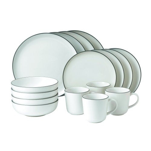 BREAD STREET 16-PIECE SET WHITE