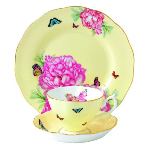 Royal Albert MIRANDA KERR 3-PIECE SET JOY (TEACUP, SAUCER, PLATE)