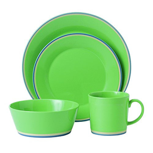 COLOURS GREEN 4-PIECE PLACE SETTING