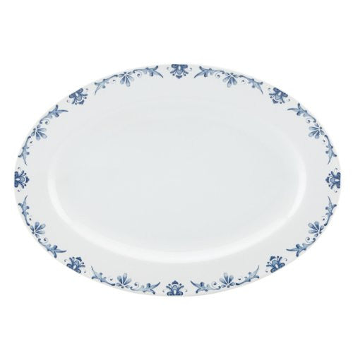 Gorham Kathy Ireland Home Nature's Song Oval Platter, 14-Inch