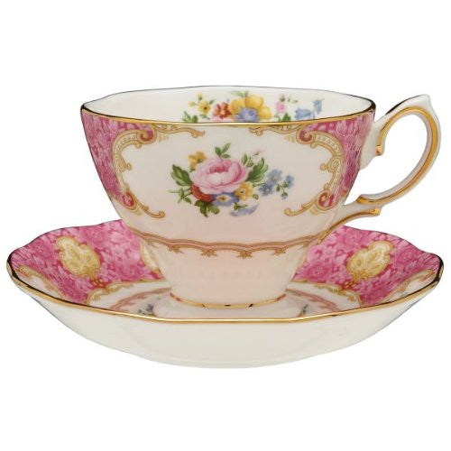 Royal Albert LADY CARLYLE TEACUP & SAUCER BOXED
