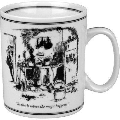 Konitz 2213300001 The New Yorker Magic Happens Mug