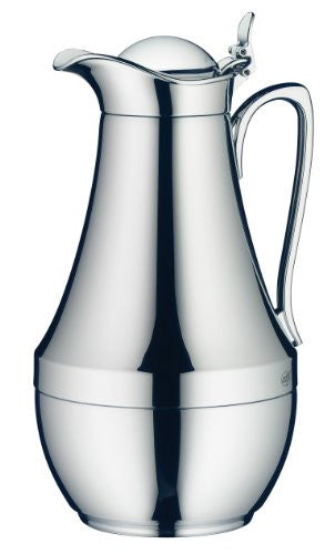 Alfi Saphir Chrome Plated Brass Thermal Carafe, 8-Cup