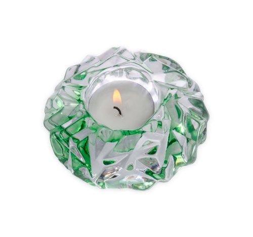 Orrefors Carat Gems Emerald Votive Holder
