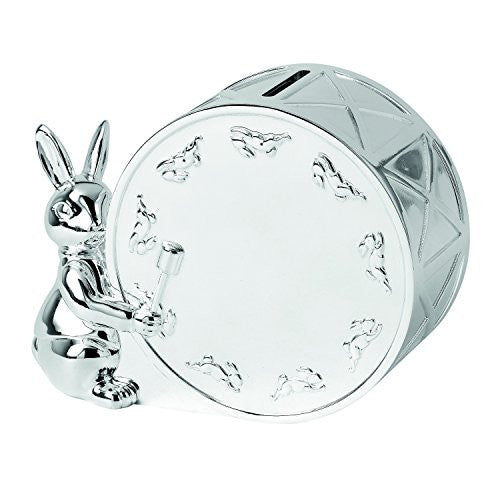BUNNYKINS SILVER MONEY BOX
