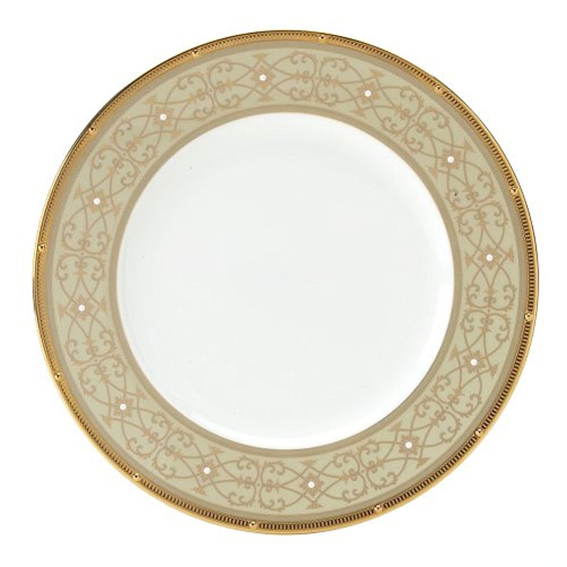Noritake Rochelle Gold Accent Plate, 9-inches