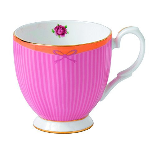 Royal Albert CANDY VINTAGE MUG 10.5 OZ SWEET STRIPE