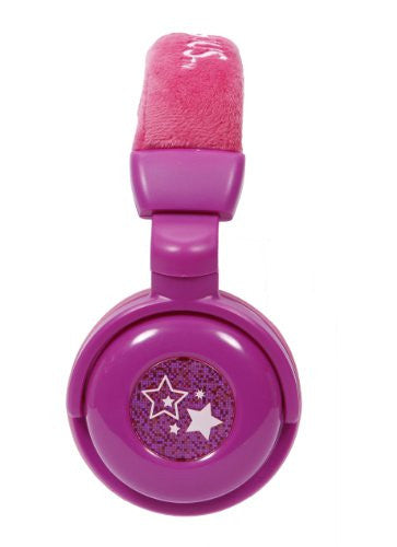 Nickeloden Victorious Plush DJ Headphones - Purple (35163)