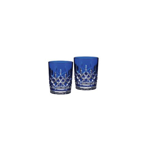 Waterford LISMORE COBALT DOF, PAIR