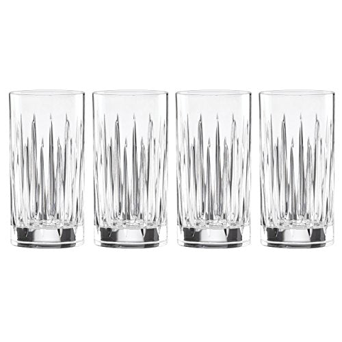 Reed & Barton 4 Piece Soho Crystal Iced Beverage Glass Set
