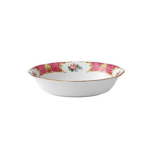 "Royal Albert LADY CARLYLE OPEN VEGETABLE BOWL 7.3"" 32.9 OZ"