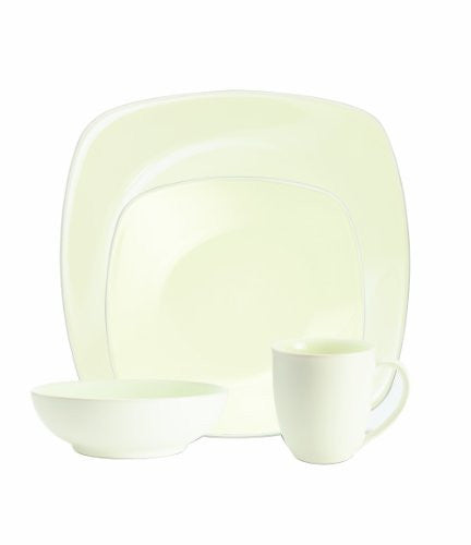 Noritake Colorwave White 4-Piece Square Place Setting