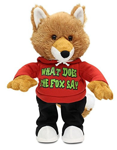 "Cuddle Barn the Fox Animated Plush Toy ""What Does the FOX Say"""
