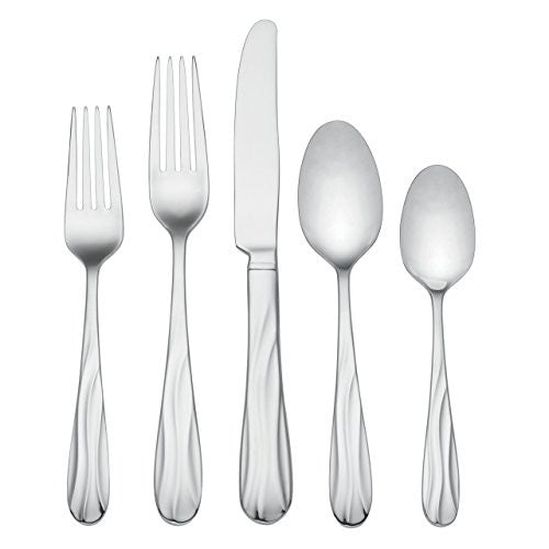 Lenox Pool 65-Piece 18/10 Stainless Flatware Set