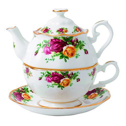 Royal Albert OLD COUNTRY ROSES TEA FOR ONE 16.5 OZ