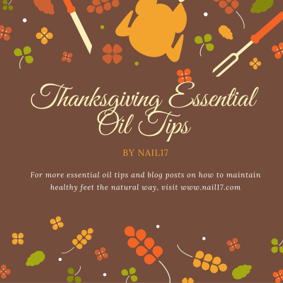 Essential Oils: A few ideas for you on Thanksgiving